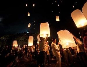 Borobudur-lampion